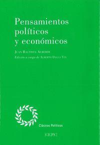 PENSAMIENTOS POLÍTICOS Y ECONÓMICOS