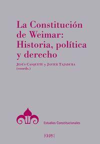 LA CONSTITUCION DE WEIMAR: