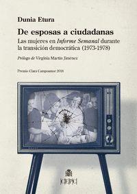 DE ESPOSAS A CIUDADANAS.