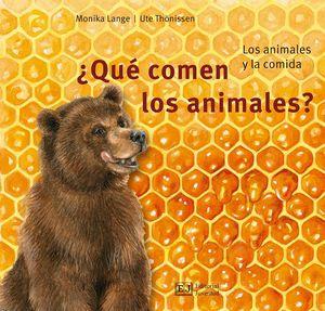 QUE COMEN LOS ANIMALES?