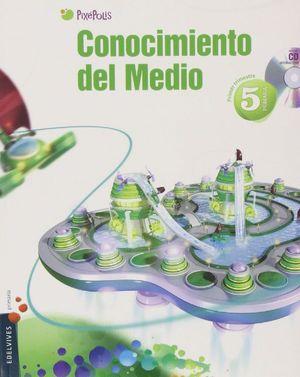 CONOCIMIENTO DEL MEDIO 5º PRIMARIA (ANDALUCIA) TRES TRIMESTRES