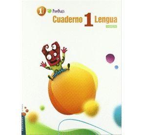 CUADERNO 2 DE LENGUA CASTELLANA Y L. 1º PRIMARIA (CUADRÍCULA)