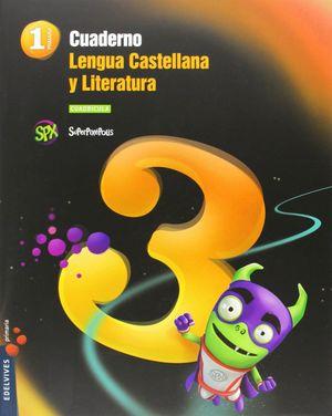 CUADERNO 3 DE LENGUA CASTELLANA Y L. 1º PRIMARIA (CUADRÍCULA)