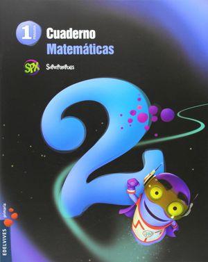 CUADERNO DE MATEMATICAS 2. 1ºEP.