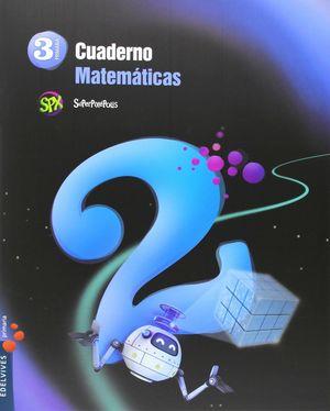 CUADERNO DE MATEMATICAS 2. 3ºEP.
