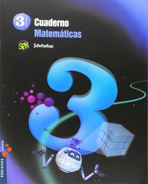 CUADERNO DE MATEMATICAS 3. 3ºEP.