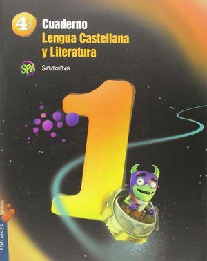 CUADERNO 1 LENGUA CASTELLANA Y LITERATURA 4º PRIMARIA