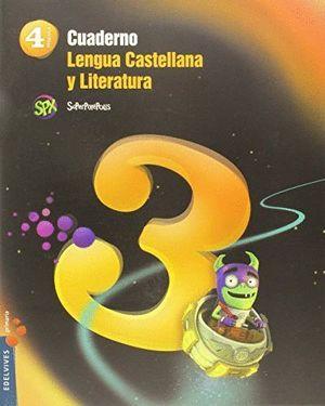 CUADERNO 3 LENGUA CASTELLANA Y LITERATURA 4º PRIMARIA