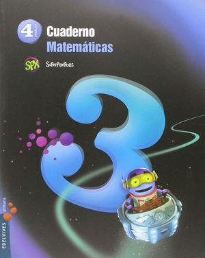 CUADERNO 3 DE MATEMÁTICAS 4º PRIMARIA