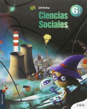 CIENCIAS SOCIALES 6ºEP. SUPERPIXEPOLIS 2015