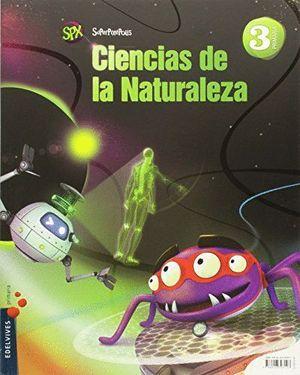 CIENCIAS DE LA NATURALEZA 3ºEP SUPERPIXEPOLIS (2015)