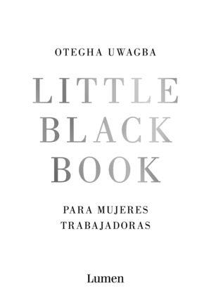 LITTLE BLACK BOOK PARA MUJERES TRABAJADORAS