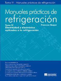 MANUALES PRACTICOS DE REFRIGERACION TOMO IV
