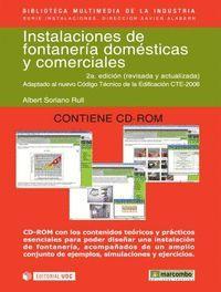 INSTALACIONES FONTANERIA DOMESTICAS Y COMERCIALES +CD