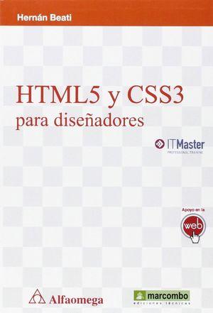 HTML5 Y CSS3 PARA DISEÑADORES