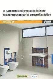 INSTALACION Y MANTENIMIENTO APARATOS SANITARIOS DE USO DOMESTICO