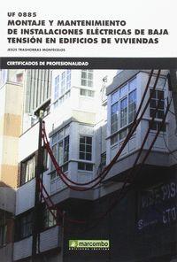 MONTAJE Y MANTENIMIENTO DE INSTALACIONES ELECTRICA