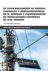 PREVENCION DE RIESGOS LABORALES Y MEDIOAMBIENTALES UF 0994