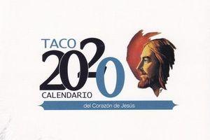 TACO MESA 2020 (CON SOPORTE) CORAZON DE JESUS