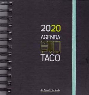 AGENDA TACO CORAZON DE JESUS 2020 A5 (GOMA VERDE)