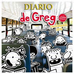 CALENDARIO DIARIO DE GREG 2018