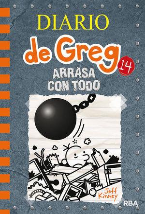 DIARIO DE GREG 14 ARRASA CON TODO DIARIO