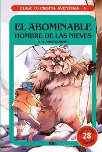 EL ABOMINABLE HOMBRE DE LAS NIEVES (ELIGE TU PROPIA AVENTURA Nº3