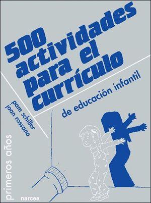 500 ACTIVIDADES PARA EL CURRICULO ED.INFANTIL