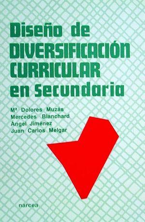 DISEÑO DE DIVERSIFICACION CURRICULAR