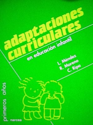 ADAPTACIONES CURRICULARES EDUCACION INFANTIL