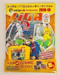 PROMO PACK ALBUM Y 5 SOBRES LIGA ESTE 2018-2019