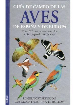 GUIA DE CAMPO DE LAS AVES DE ESPAÑA Y EUROPA (T)