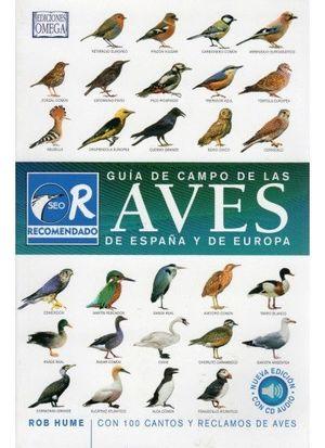 GUIA CAMPO AVES ESPAÑA Y EUROPA/ 3ª ED.