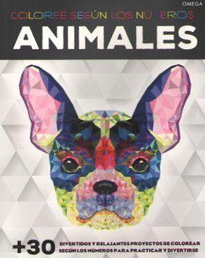 ANIMALES. COLOREE SEGON LOS NOMEROS