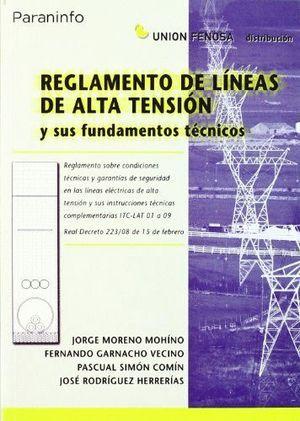 REGLAMENTO LINEAS ALTA TENSION Y SUS FUNDAM TECNICOS