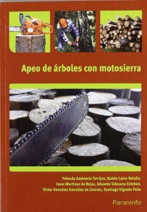 APEO DE ARBOLES CON MOTOSIERRA