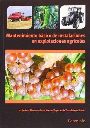 MANTENIMIENTO BASICO DE INSTALACIONES EN EXPLOTACIONES AGRICOLAS
