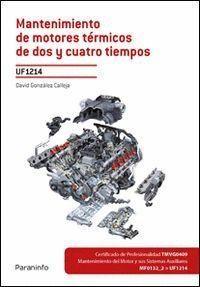 MANTENIMIENTO MOTORES TERMICOS DE DOS Y CUATRO TIEMPOS