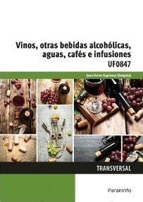 VINOS OTRAS BEBIDAS ALCOHOLICAS AGUAS CAFES E INFUSIONES