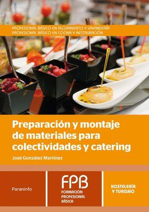 PREPARACION Y MONTAJE DE MATERIALES PARA COLECTIVIDADES Y ...