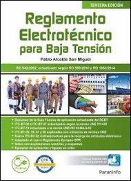 REGLAMENTO ELECTROTECNICO PARA BAJA TENSION (3ª ED.)