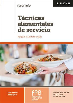 TECNICAS ELEMENTALES DE SERVICIO (FORMACION BASICA PROFESIONAL)
