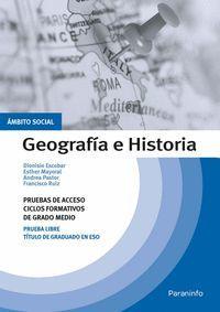 GEOGRAFIA E HISTORIA PRUEBAS DE ACCESO CICLOS FORMATIVOS DE GRADO MEDIO