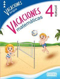 VACACIONES 4º PRIMARIA MATEMATICAS LENGUA