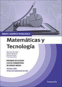 MATEMATICAS Y TECNOLOGIA AMBITO CIENTIFICO TECNOLOGICO