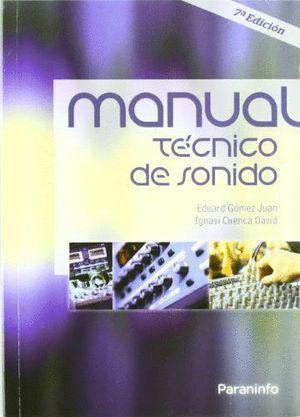 MANUAL TÉCNICO DE SONIDO