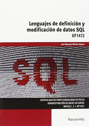 LENGUAJES DE DEFINICION Y MODIFICACION DE DATOS SQL