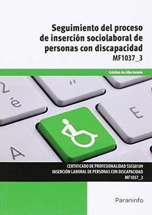 SEGUIMIENTO DEL PROCESO DE INSERCION SOCIOLABORAL DE PERSONAS