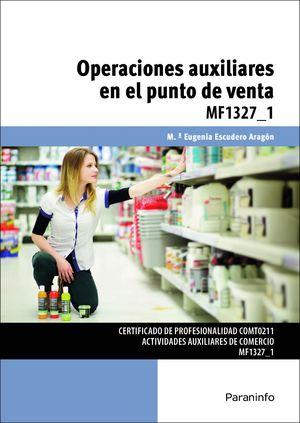 OPERACIONES AUXILIARES EN EL PUNTO DE VENTA