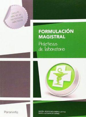 FORMULACION MAGISTRAL PRACTICAS DE LABORATORIO